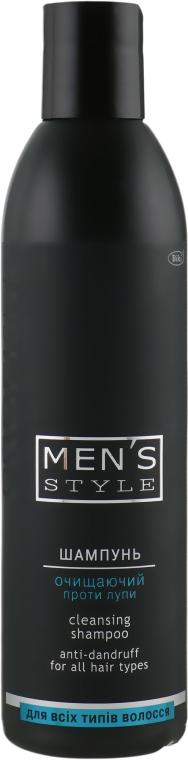 Шампунь очищающий против перхоти для мужчин - Profi Style Men's Style cleaning Shampoo