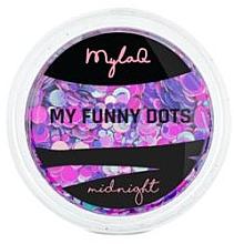 Духи, Парфюмерия, косметика Пайетки для дизайна ногтей - MylaQ My Funny Dots