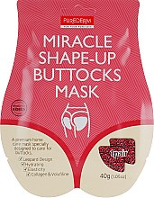 Парфумерія, косметика Маска-ліфтинг для інтенсивної підтяжки сідниць - Purederm Miracle Shape-Up Buttocks Mask