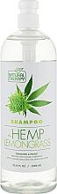 Духи, Парфюмерия, косметика Шампунь для волос с экстрактом конопли и лемонграсса - Natural Therapy Hemp + Lemongrass Shampoo