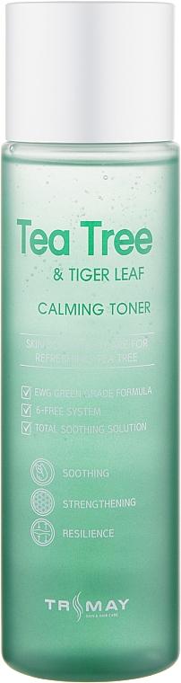Успокаивающий тонер для лица, шеи и декольте - Trimay Tea Tree Tiger Leaf Calming Toner