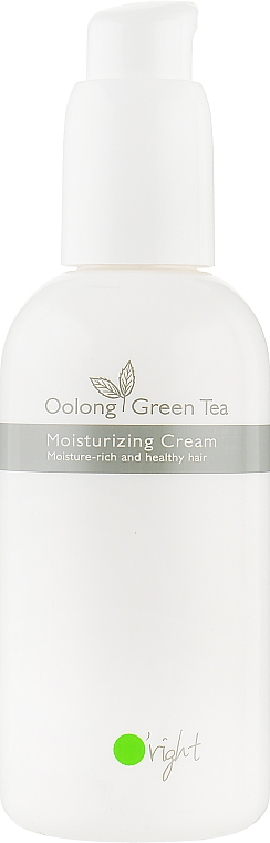 "Увлажняющий крем для волос ""Улун Зеленый чай"" - O'right Oolong Green Tea Moisturizing Cream"
