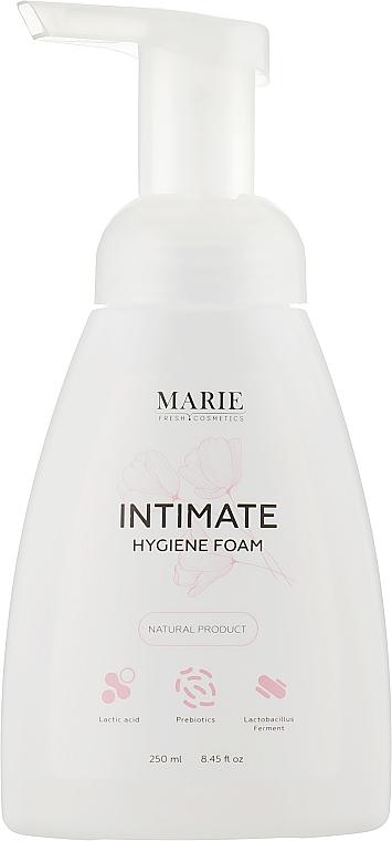 Пенка для интимной гигиены с ферментами лактобактерий и молочной кислотой - Marie Fresh Cosmetics
