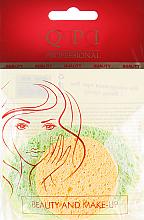 Духи, Парфюмерия, косметика Набор спонжей для умывания, QS-603, желтый+салатовый - QPI