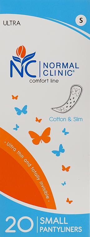 """Ежедневные гигиенические прокладки """"Ultra Cotton & Slim"""" 150мм, 20 шт - Normal Clinic"""