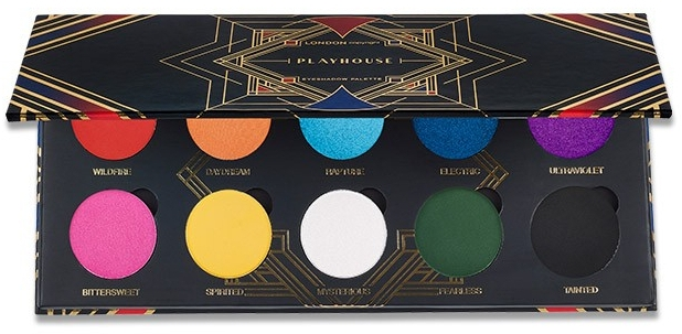 Палетка теней для век - London Copyright Magnetic Eyeshadow Palette Playhouse