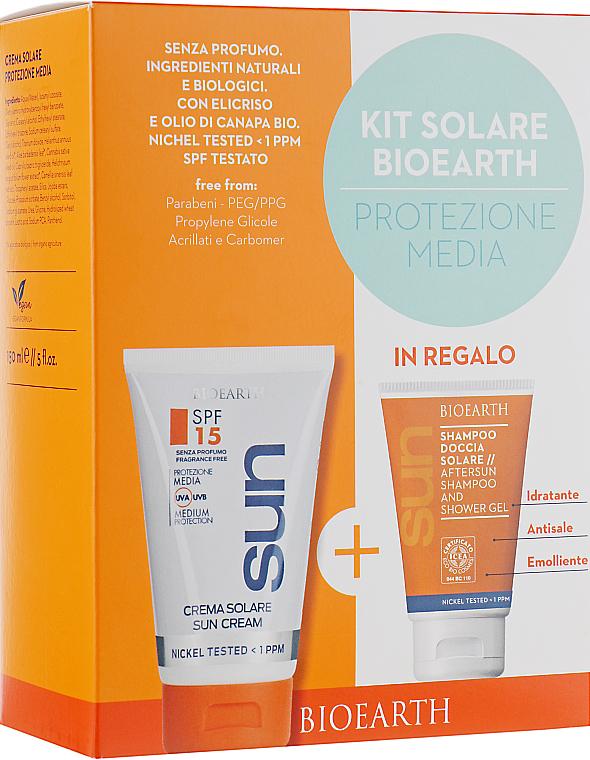 УЦЕНКА Солнцезащитный набор - Bioearth Solare Kit SPF15 *