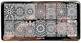 Парфумерія, косметика Пластина для стемпінга - Tufi Profi VINS-06