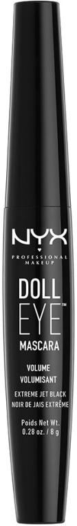 Объемная тушь для ресниц - NYX Professional Makeup Doll Eye Mascara Volume