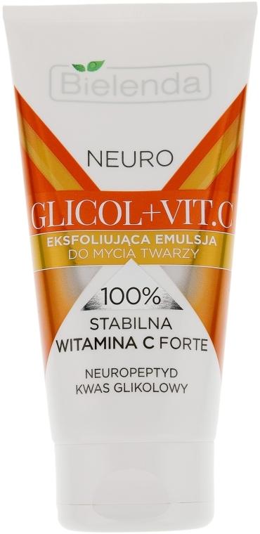 Очищающая эмульсия для лица - Bielenda Neuro Glicol + Vit.C
