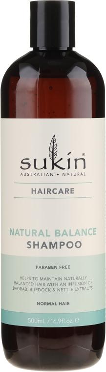 Шампунь для нормальных волос - Sukin Natural Balance Shampoo