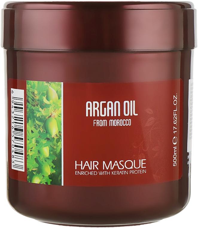 Маска для волос с протеинами кератина - Bingo