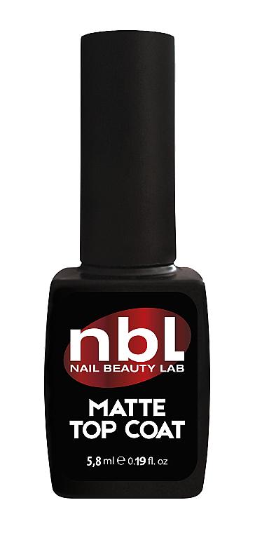 Матовый топ для гель-лака - Jerden NBL Nail Beauty Lab Rubber Top Coat