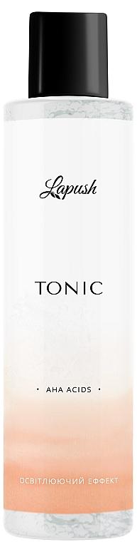 """Тоник для лица """"Регенерация и омоложение"""" с АНА-кислотами - Lapush Tonic AHA Acids"""