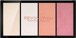 Духи, Парфюмерия, косметика Палитра хайлайтеров - Makeup Revolution Re-Loaded