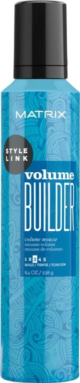 Мусс для придания объема волосам - Matrix Style Link Volume Builder Volume Mousse