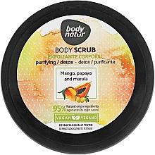 Духи, Парфюмерия, косметика Скраб для тела с манго, папайей и марулой - Body Natur Mango, Papaya and Marula Body Scrub