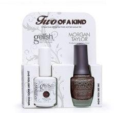Духи, Парфюмерия, косметика Набор лаков для ногтей - Gelish Two Of A Kind Kit (nail/01848/15ml + nail/50141/15ml)