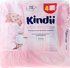 Духи, Парфюмерия, косметика Детские влажные салфетки - Cleanic Kindii Ultra Sensitive Wipes