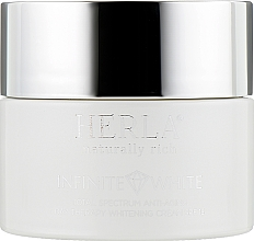 Духи, Парфюмерия, косметика Дневной крем для лица - Herla Infinite White Total Spectrum Anti-Aging Day Therapy Whitening Cream SPF 15