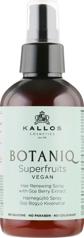 Восстанавливающий спрей для волос - Kallos Cosmetics Botaniq Superfruits Repair Hair Spray