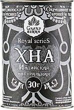 Парфумерія, косметика Хна для біотату і брів, чорна - Grand Henna Royal Series