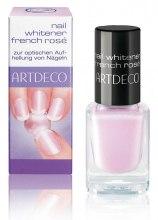 Духи, Парфюмерия, косметика Розовый лак для оптического осветления ногтей - Artdeco Nail Whitener French Rose (тестер)