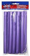 Духи, Парфюмерия, косметика Бигуди для волос 20/240 mm, фиолетовые - Ronney Professional Flex Rollers RA 00045
