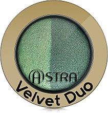 Тени для век - Astra Make-up Velvet Duo Eyeshadow — фото N2