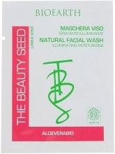Духи, Парфюмерия, косметика Освежающая и увлажняющая маска для лица - Bioearth The Beauty Seed Refreshing and Moisturizing Mask (пробник)