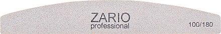 Пилка для ногтей, месяц, 100/180 - Zario Professional