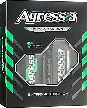 Духи, Парфюмерия, косметика Набор - Agressia Extreme Energy (sh/gel/250 ml + sh/cr/100ml)