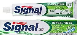 Духи, Парфюмерия, косметика Зубная паста с травами - Signal Family Herbal Fresh Toothpaste