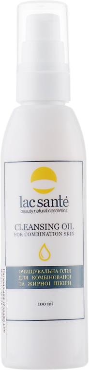 Масло для очищения комбинированой и жирной кожи - Lac Sante Cleansing Oil For Combination Skin