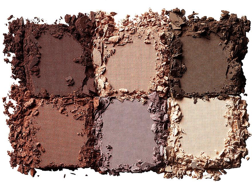 Палетка теней для век - NYX Professional Makeup Lingerie Shadow Palette — фото N3