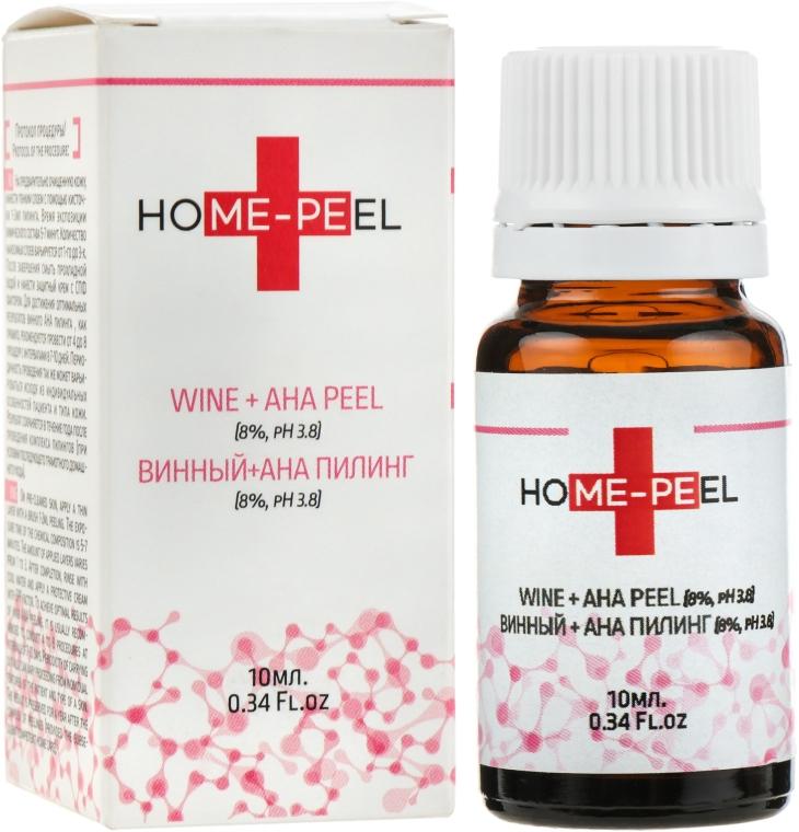 Винный + АНА пилинг 8%, рН 3.8 - Home-Peel