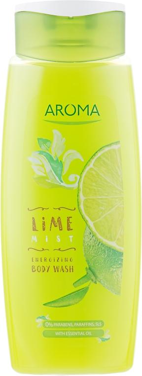 "Гель для душа ""Лайм"" - Aroma Greenline Shower ""Lime Mist"""