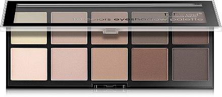 Палетка теней для век - DoDo Girl 10 Colors Eyeshadow Palette