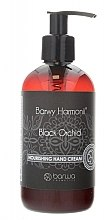 "Духи, Парфюмерия, косметика Увлажняющий крем для рук ""Черная орхидея"" - Barwa Harmony Black Orchid Nourishing Hand Cream"