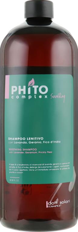 Успокаивающий шампунь - Dott. Solari Phito Complex Soothing Shampoo