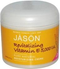 Духи, Парфюмерия, косметика Крем для тела и лица с витамином Е «Живительный» - Jason Natural Cosmetics Pure Natural Moisturizing Cream Revitalizing Vitamin E