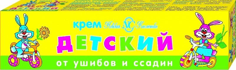 """Детский крем """"От ушибов и ссадин"""" - Невская Косметика"""