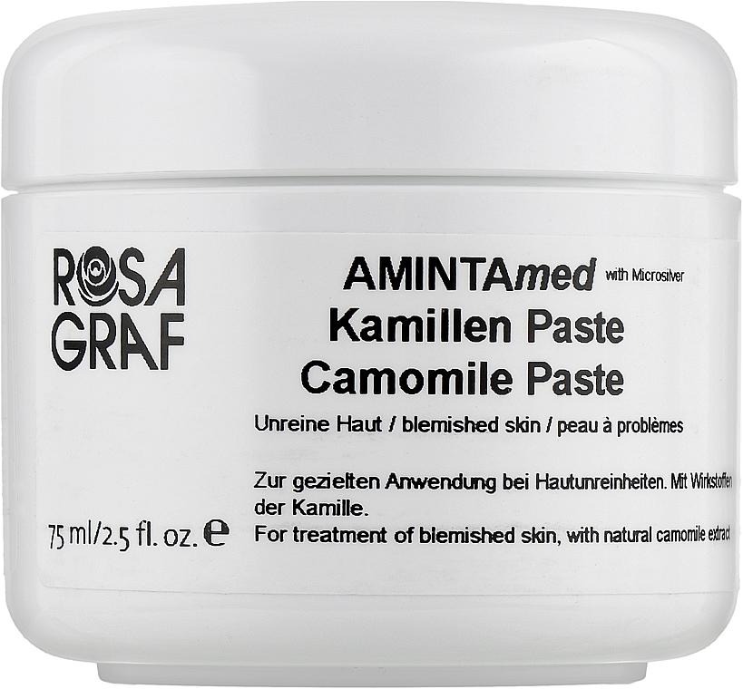 Лечебная анти-акне паста с микро-серебром для локального нанесения на ночь - Rosa Graf Amintamed