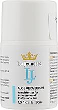 Духи, Парфюмерия, косметика Сыворотка для лица с алоэ вера - La Jeunesse Serum With Aloe Vera