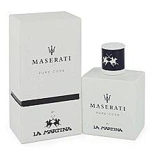 Духи, Парфюмерия, косметика La Martina Maserati Pure Code - Туалетная вода