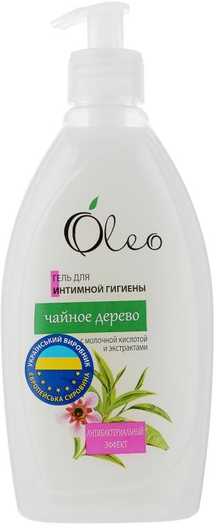 """Гель для интимной гигиены """"Чайное дерево"""" - Oleo"""