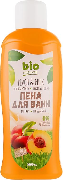 """Пена для ванн """"Персик и молоко"""" - Bio Naturell"""