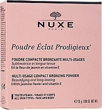 Духи, Парфюмерия, косметика Бронзирующая пудра - Nuxe Compact Bronzing Powder