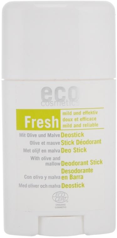 Дезодорант стик Листья оливы и мальвы - Eco Cosmetics
