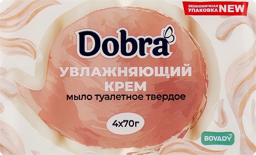 """Мыло туалетное """"Увлажняющий крем"""" - Мыловаренные традиции Dobra Bovary"""